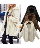 2018 Winter Warm Women Faux Fur Coat Soft Hoodies Fur Jacket Female Lant... - $85.72