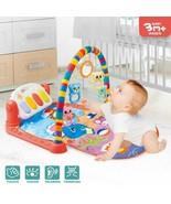 Xmas Gift Baby Gym Play Mat Musical Activity Center Kick And Play Piano Toy QH - $46.78