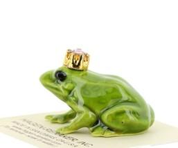 Birthstone Frog Prince June Simulated Alexandrite Miniatures by Hagen-Renaker image 2
