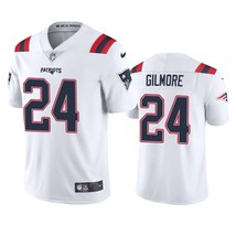 Men's New England Patriots #24 Stephon Gilmore White 2020 Vapor Limited ... - $62.75