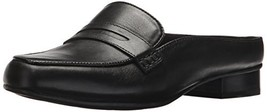 CLARKS Women's Keesha Donna Mule,Black Leather,7.5 Medium US - $73.38