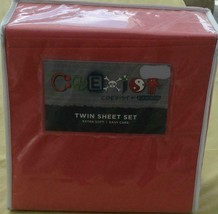 Cannon Coexist Sheet Set - Brand New In Package - Polyester - Twin - Extra Soft - $29.69