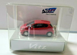 TOYOTA Vitz Yaris Cherry Pearl Crystal Shine LED Light Keychain Japan Limited - $19.94