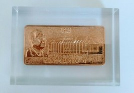 McDonald's 30th Anniversary Gold Plated Bar 1955 - 1985  - $25.00