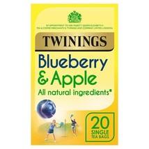 Twinings Blueberry & Apple Tea 20 per pack - $5.39