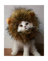 Lion Mane Wig for Dog and Cat Costume Pet Adjustable Washable Comfortabl... - €12,07 EUR