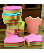Multicolor Sticky Notes Memo Pads Cute Office Love Sticker Post Bookmark... - $1.88+