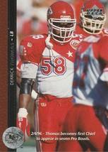 1996 Upper Deck #195 Derrick Thomas - $0.50