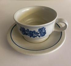 Pfaltzgraff  Yorktowne ~  Cup and Saucer - $4.00