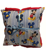 Mickey Mouse Pillow And Blanket Disney Mickey Pillow and Blanket Set Han... - $19.99