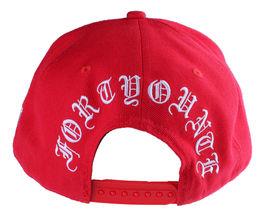 40oz Forty Ounce NYC Big Apple New York Old English Red Snapback Baseball Hat image 4