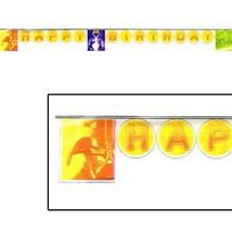 Star Wars Episode III 8.42 Foot Plastic Hanging Happy Birthday Banner 1 Per Pkg - $4.90