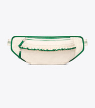 Tory Burch Ivory Pearl/Vineyard Ruffle Belt Bag Free Shipping - $106.00