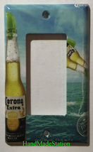 Corona Extra Bottle Beer Logo Light Switch Power Outlet Wall Cover Plate Decor image 6