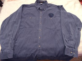WARNER BROS HOME VIDEO, LONGSLEEVE SHIRT, BLUE, XL,STUDIO PROVIDED, NEW - $21.95