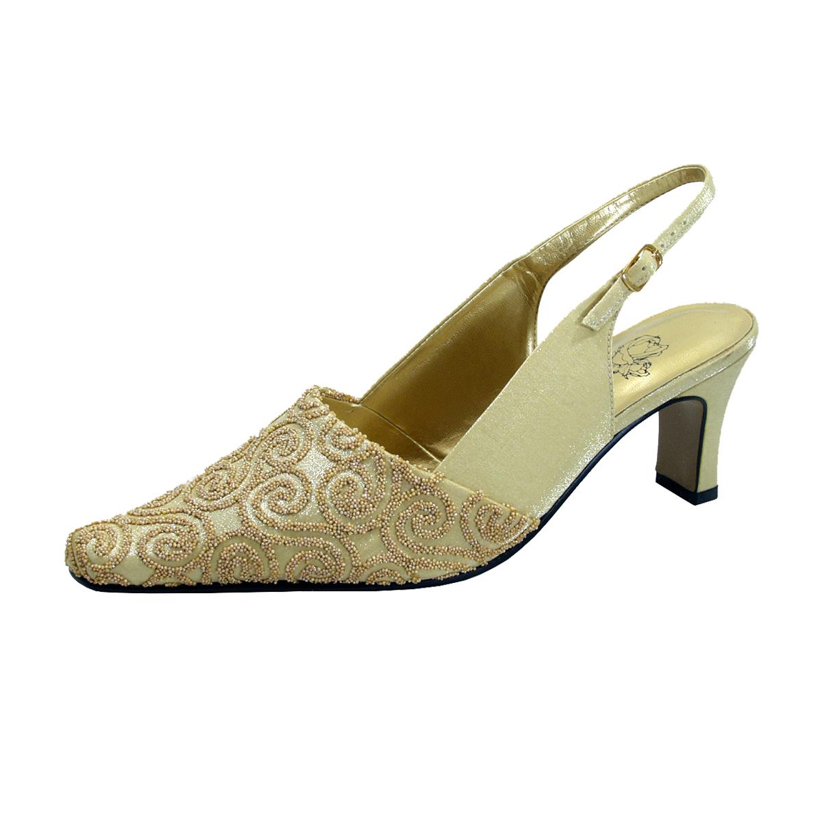 FLORAL Clover Women's Wide Width Dress Slingback Shoes - $29.95