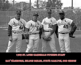 MLB 1969 St. Louis Cardinals Pitching Staff Gibson Carlton 8 X 10 Photo Picture - $5.99