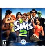 The Sims 2 PC Game - (4) Disc EA Games W/Code PC Game 2004  - $15.90