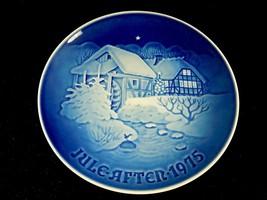 "Bing & Grondahl 7.25"" Christmas Collector Plate, ""Juleaften"" 1975, #11/3/6 - $14.65"