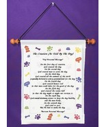The Creation (As Told By the Dog) - Personalized Wall Hanging (1005-1) - $18.99