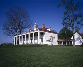 Eastern facade Mount Vernon George Washington estate facing Potomac Photo Print - $8.81+