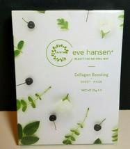 Eve Hansen Collagen Boosting Sheet Mask Set of (5) 25g Sheets Paraben-Free - $19.75