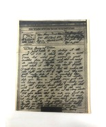 WWII Nov 43 PFC soldier's Christmas letter home before leaving for Italy... - €17,12 EUR