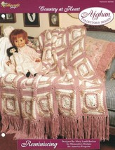 Reminiscing Country at Heart Afghan Pattern The Needlecraft Shop TNS - $3.46