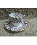 Spode SHANGHAI English China R5321 Demi Tasse Cup and Saucer Free Shipping - $14.82