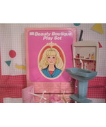 Sears Beauty Boutique Playset for Fashion Dolls by Arco - $8.55