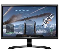 "LG - 24UD58-B 24"" 16:9 4K UHD (3840 x 2160) FreeSync IPS Monitor NEW! - $258.98"