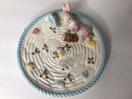1994 Omnibus Fitz And Floyd Eggspress Hand Painted Easter Egg BOY Bunny ... - $15.83