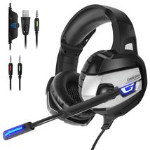 ONIKUMA K5 Stereo Gaming Headsets Headphones For PS4 New Xbox One PC with Mic - $47.50