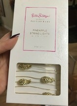 Pottery Barn Pineapple String Lights Gold Brass Lilly Pulitzer Party Fairy Light - $39.50