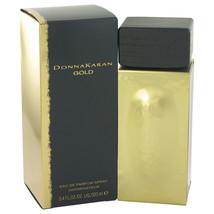 Donna Karan Gold Perfume by Donna Karan 3.4 Oz Eau De Parfum Spray  image 3