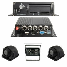 Black Box 1080P Dash Cam, 3 or 4 Cam MDVR System, For Fleets/ Truckers - $558.97