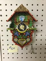 Genuine Black Forest Miniature Clocks #520 Cuckoo Clock Theme - $39.99