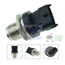 Fuel Pressure Sensor For Renault Mercedes MWM VW Chevrolet 0281002907 02... - $36.45