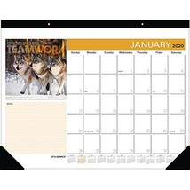 "AT-A-GLANCE 2020 Desk Calendar, Desk Pad, 21-3/4"" x 17"", Successories Mo... - $28.28"