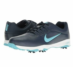 Nike Air Zoom Rival 5 Midnight Navy Vivid Sky Mens Golf Shoes Cleats 878... - $54.95