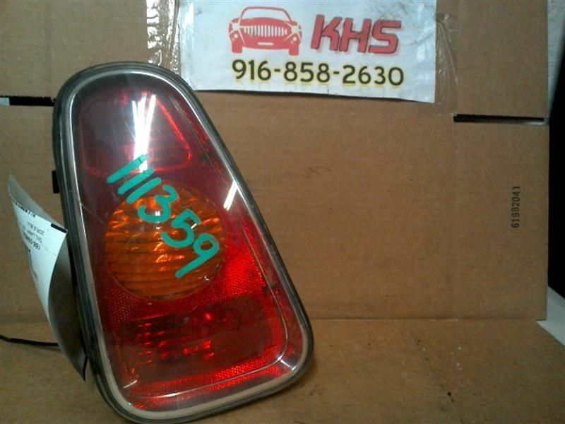 Primary image for Driver Tail Light Convertible Fits 02-08 MINI COOPER 246239