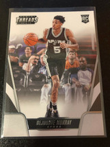 2016-17 Panini Threads San Antonio Spurs Basketball Card #194 Dejounte M... - $0.99