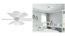 "Westinghouse 7230700 Petite 30"" 6 Blade LED Ceiling Fan - White UPC024034723087  - $113.85"