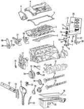 Genuine Mercedes-Benz Chain Guide 111-050-14-16 - $45.67