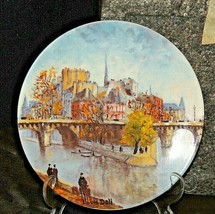 "Collector's Plate ""LA POINTE DU YERT GALANT ET LE OUNT NEUF"" AA20-7207AA Vintag"