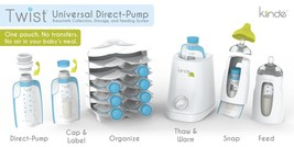 Kiinde Twist Universal Direct-Pump System & Warmer Set - $85.00