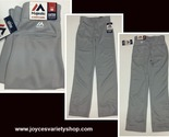 Majestic boys gray baseball pants web collage thumb155 crop