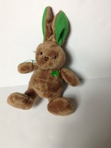 Rare M&M's Plush Bunny rabbit Green M&M Logo and Ears stuffed animal toy - $12.19