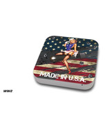 Skin Decal Wrap for Apple Mac Mini Desktop Computer Graphic Protector WW2 - $14.80