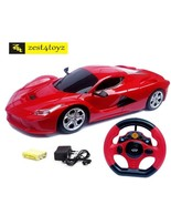 Toyz Steering Remote Control Racing Car,  assorted Colors ** - $30.15